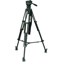 Miller Cx8 Fluid Head With Toggle 2-stage Alloy Tripod System 3737