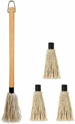 18 Inches Large Bbq Basting Mop 3 Extra Natural Color