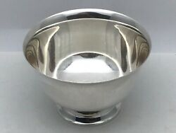 Vintage And Co Makers Sterling Silver 23615 Paul Revere Footed Bowl