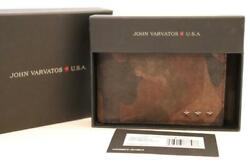 JOHN VARVATOS STAR USA CAMO BIFOLD WALLET New in Gift Box MSRP $88 Free Shipping $59.95