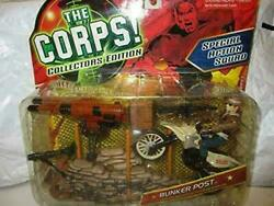 Lanard Vintage The Corps Collectors Edition Special Action Squade Bunker Post