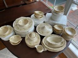 Vintage Dearborn Federal Shape Syracuse China Collection - Rare 92 Pieces