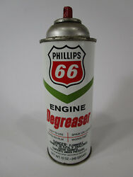 Vintage Phillips 66 Spray Can Engine Degreaser Advertising Tin