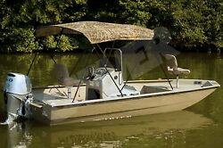 H-duty Camo Camouflage-usa Made-boat Bimini Top 48tall X 97-103wide X 96long