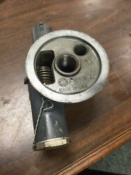 Lycoming Oil Filter Base Assy W Bypass Valve P/n 77852