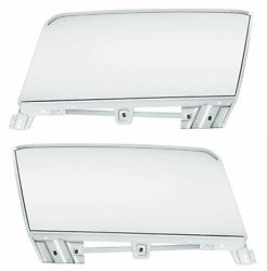 Lh And Rh Complete Clear Door Glass Assemblies 1967-1968 Ford Mustang Convertible
