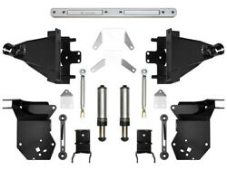 Icon Suspension Hydraulic Rear Bump Stop Kit For 2017-2018 Ford Raptor