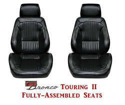 Standard Touring Ii Fully Assembled Seats For 1968-77 Ford Broncoand039s Any Color