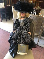 Rustie Collectible Concepts 18kt Gold Porcelain Doll Starburst Limited Edition 2