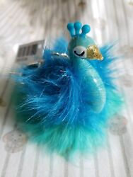 Bath And Body Works Fluffy Peacock Pocket. Bac Holder Sleeve H And Sanitizer +gift
