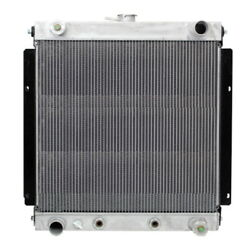 New Radiator For Aluminum Airport Tug Tow Tractor W/ Oil Cooler