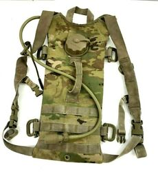 U.s. Army Ocp / Scorpion Camouflage Hydration System Carrier W/ Molle Straps