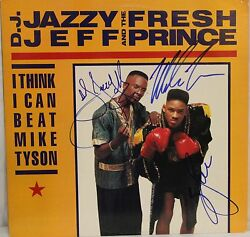 Dj Jazzy Jeff, Will Smith And Mike Tyson Signed Autographed Album Jsa M13304