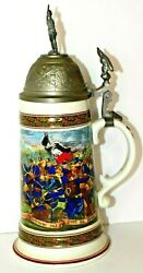 Vintage Beer Stein House Of Global Art W. Germany A Jolly Song Makes The Heart