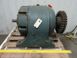 Large In-line Gear Box Speed Reducer 2401 Ratio 3-3/4 Output 1-7/8 Input