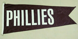 Scoreboard Flag For Philadelphia Phillies From Wrigley Field Mlb Authenticated