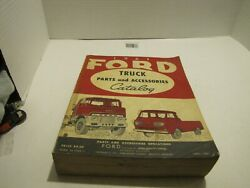 1961 Ford Trucks Parts And Accessories Catalog Pick Ups Heavy Duty Tilt Cab Used