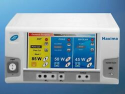 New Electro Surgical Generator Model Maxima Touch Screen Machine Gnhu