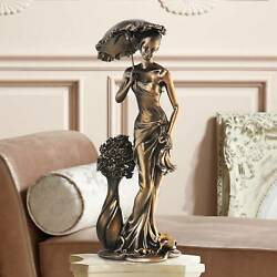 Springtime Promenade Bronze Finish 14 3 4quot; High Sculpture