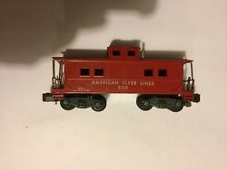 American Flyer By Gilbert 938 Caboose Nice Replacement If Yours Is Damaged Good