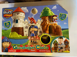 New Mike The Knight Glendragon Castle Playset Fisher Price With 3 Levels Damaged