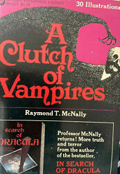 A Clutch of Vampires First Print by Raymond T. McNally $18.99