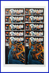 Spawn 7 Image January 1993 10 Copies 1st Printing White Pages Nm+ Comic Books