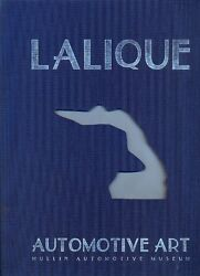Lalique Car Mascots - Book By The Mullin Automotive Museum - Deluxe Edition