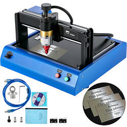 Vevor 400w Electric Metal Marking Machine Dot Peen 300x200mm For Number Letter