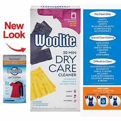 Woolite At Home Dry Cleaner Fresh Scent 6 Cloths With 3 Out Stain Removers