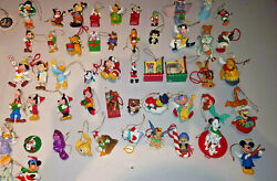 Lot 524 Walt Disney Large Collection Of Vintage Christmas Ornaments 1980and039s