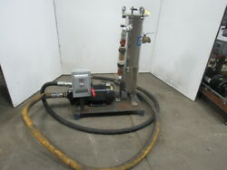 Rosedale/amt Mc08-30-2r--150-sbpb 15hp Stainless Steel Bag Filter Pump Assembly
