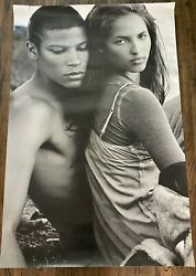 Ultra Rare Huge Abercrombie And Fitch Vintage Store Poster Life Size 6+ Ft Tall