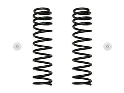 Icon 2.5 Inch Front Dual Rate Coil Spring Kit For 2018-2019 Jeep Wrangler Jl