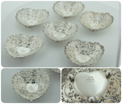 Heart Shape Sterling Silver Candy Dish Chantilly By Gorham