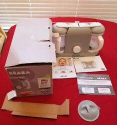Bandeacuteaba Babycook Plus Baby Food Maker And Recipe Booklet