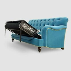 Made To Order_james Charnwood Large Cotton Or Velvet Sofa Bed Chelsea Darlings