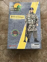 German Paratrooper 12 Inch Figure The Ultimate Soldier 21st Century Toys
