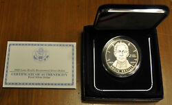United State Mint 2009 Louis Braille Proof Silver Dollar W/mint Box And Coa