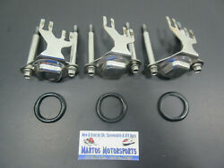 Qty 3 Oem Polaris 2003 Genesis I And 2004 Genesis I Msx 140 Injector Cap And O Ring