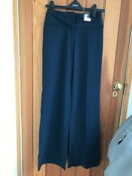 florence and fred navy floaty wide trousers uk 6 bnwt GBP 12.99