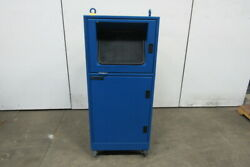 Ice/stations Is56 Free Standing Enclosure W/mclean M28-0216-6013 Ac Unit