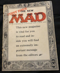 First Issue The New Mad Magazine, 1955