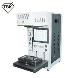 Tbk-958a Automatic Laser Marking Machine Phone Back Cover Screen Separator Os12