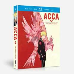 Acca 13-territory Inspection Dept. Blu-ray Disc/dvd, 2018, 4-disc Set