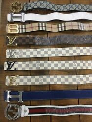6 styles BELT smooth 47 inches long or 120 cm  $55.00
