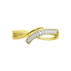 Daily Wear Toe Rings 14k Yellow Gold Finish 925 Sterling Silver Women's Cluster