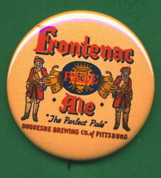 Frontenac Duquesne Style Brewing Pittsburgh Pa. Beer And Ale Tray Ad Rp Pin