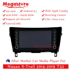 9 Octa Core Android 10.1 Car Non Dvd Gps For Nissan X-trail T32 Apple Carplay