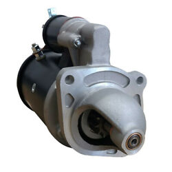 New 10t 12 Volt Starter Fits Ford Farm Tractor 8160 8260 6-456 1996-99 9-142-766